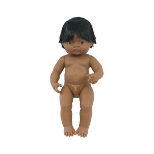 IAJDIM1-31057 Muñeco Latinoamericano niño 38-cm