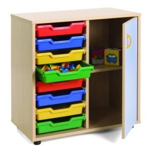 EMMAMB600211- mueble bajo 8-cubetas-y-1-armario