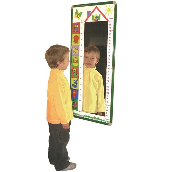 Espejo medidor mobiliario escolar - Espejo irrompible ninos ...