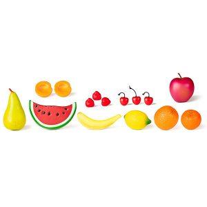 IAJDIM1-30581 Frutas Frutas para jugar 15 piezas