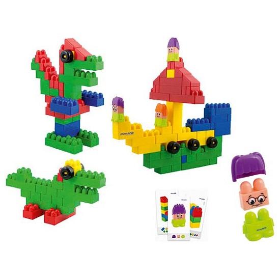 IAJDIM1-32338 School Blocks Súper 96-piezas